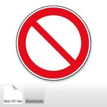 Verbotsschild - Allgemeines Verbotszeichen