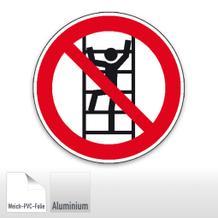 Verbotsschild - Aufsteigen verboten