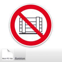 Verbotsschild - Abstellen oder Lagern verboten