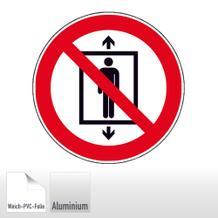 Verbotsschild Personenbeförderung verboten