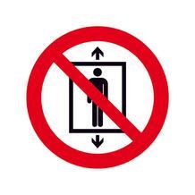 Verbotsschild - Personenbeförderung verboten