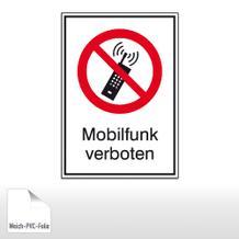 Verbots-Kombischild Mobilfunk verboten