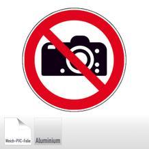 Verbotsschild - Fotografieren verboten