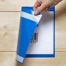 Kennzeichnungstaschen selbstklebend - in 4 Größen - Öffnung wählbar
