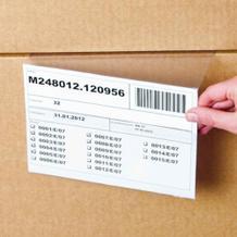 Hartkunststofftaschen für gestapelte Kartons - in 2 Größen
