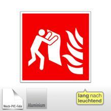 Brandschutzschild - langnachleuchtend Feuerlöschdecke