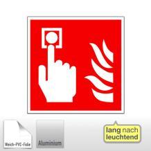Brandschutzschild - langnachleuchtend Brandmelder