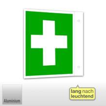 Erste-Hilfe-Schild - Fahne - langnachleuchtend