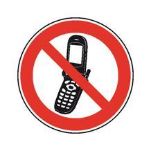 Verbotsschild - Foto-Handy benutzen verboten