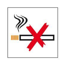 Hinweisschild - Betriebskennzeichnung Rauchen verboten