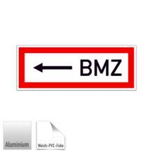 Hinweisschild für die Feuerwehr <---- BMZ