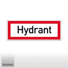 Hinweisschild für die Feuerwehr Hydrant