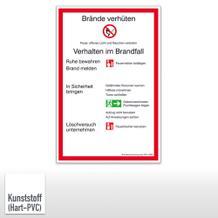Brandschutzordnung Stadt München (DIN EN ISO 7010)