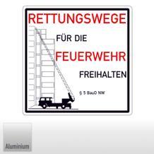 Rettungswege für die Feuerwehr freihalten § 5 BauO NW (Nordrhein Westfalen)
