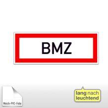 Hinweisschild für die Feuerwehr - Brand-Melder-Zentrale BMZ