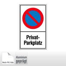 Haltverbotsschild - Privatparkplatz