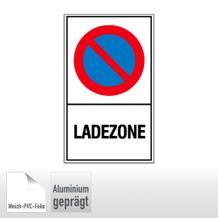 Haltverbotsschild - Ladezone