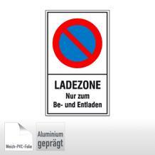 Haltverbotsschild - Ladezone Nur zum Be- und Entladen