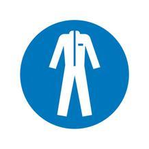 Gebotsschild - Schutzkleidung benutzen