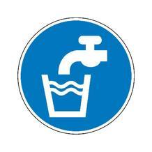 Gebotsschild - Trinkwasser