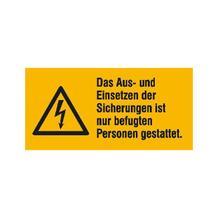 Warn-Kombischild - Das Aus- und Einsetzen der Sicherungen ...