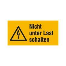 Warn-Kombischild - Nicht unter Last schalten