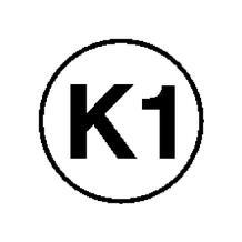 Etiketten - Kennzeichnung elektrische Betriebsmittel - K1