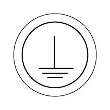 Etiketten - Kennzeichnung elektrische Betriebsmittel - Schutzleiter
