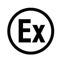 Etiketten - Kennzeichnung elektrische Betriebsmittel - Ex (Explosionsgeschützt / rund)