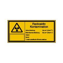 Warn-Kombischild - Strahlenschutz - Radioaktiv Kontamination