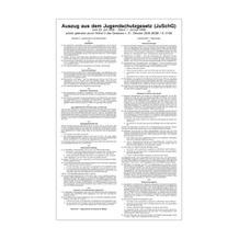 Jugendschutzgesetz - Auszug aus dem Gesetz zum Schutze der Jugend in der Öffentlichkeit