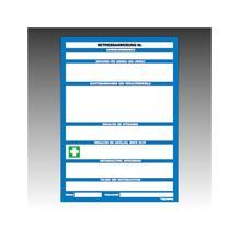 Betriebsanweisung für Maschinen - DIN A4 - zur Selbstbeschriftung