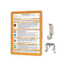 Kunststoffrahmen - Komplettset für Betriebsanweisungen