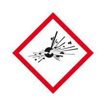PROTECT - widerstandsfähiges GHS-Gefahrensymbol - verschiedene Symbole