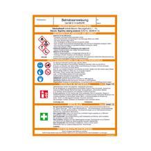 Gefahrstoff-Betriebsanweisung - Ottokraftstoff/Benzin