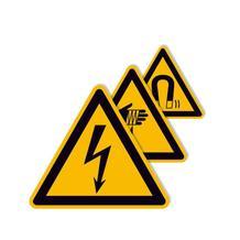 PROTECT - widerstandsfähiges Warnschild - mit verschiedenen Symbolen