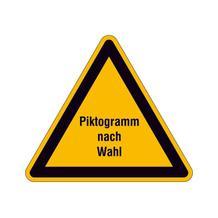 PROTECT - widerstandsfähiges Warnschild - mit Piktogramm nach Wunsch