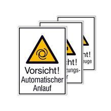PROTECT - widerstandsfähiges Warn-Kombischild - mit verschiedenen Symbolen