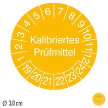 Prüfplakette Kalibriertes Prüfmittel - auf Rolle