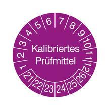 Prüfplakette - Kalibriertes Prüfmittel