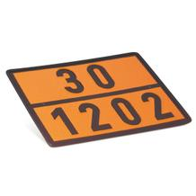 Warntafel - Gefahrgut - Einstofftafel -  Heizöl / Diesel