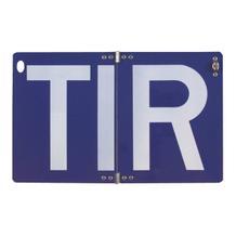 Hinweisschild - Kraftfahrzeuge - TIR-Schild - klappbar - ohne Trennpunkte