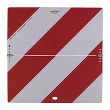 Nachtparktafel - klein - klappbar - Rot/Weiss - bauartgeprüft - 2 Varianten