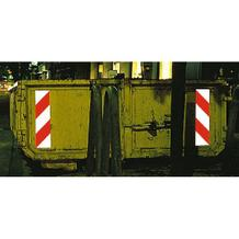 Container-Warnmarkierung - Komplettset - je 4 Folien links- u. rechtsweisend