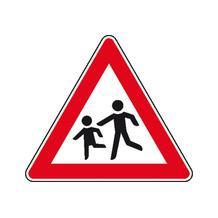 Verkehrszeichen - StVO - Kinder (Aufstellung rechts) - 2 Größen