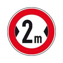 Verkehrszeichen - StVO - Verbot für Fahrzeuge über angegebene ... - 2 Größen