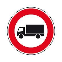 Verkehrszeichen - StVO - Verbot für Kraftwagen über 3,5 t - 2 Größen