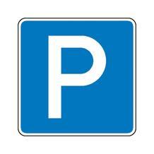 Verkehrszeichen - StVO - Parkplatz - 2 Größen