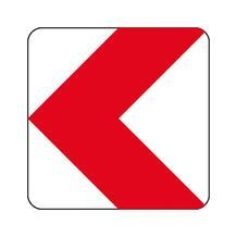 Verkehrszeichen - StVO - Richtungstafel linksweisend