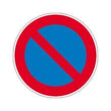 Verkehrsschild - Betriebskennzeichnung - Eingeschränktes Haltverbot